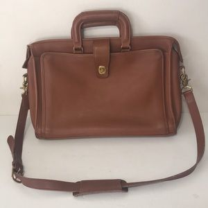 Vintage Coach Cowhide Shoulder Bag Brief computer